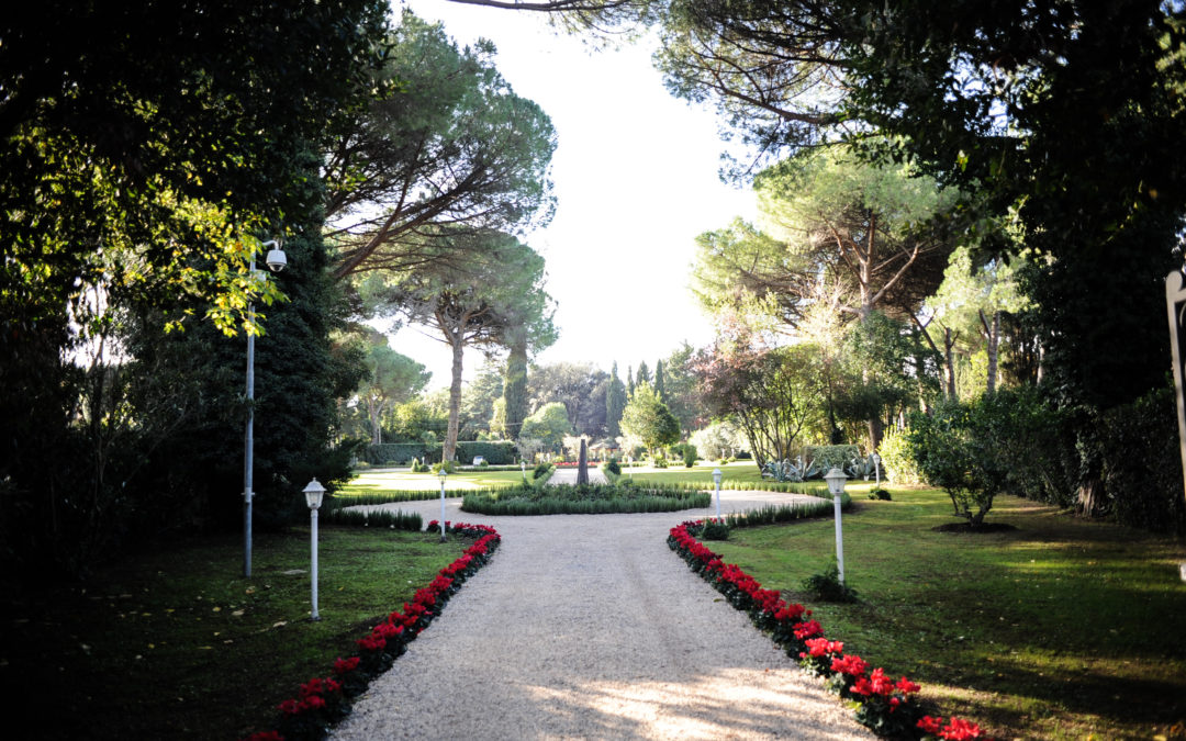 Location for events in Rome: the suggestions of Villa Trebazia
